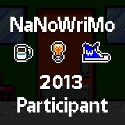 NaNoWriMo Participant 2013 m