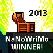 NaNoWriMo 2013 Winner